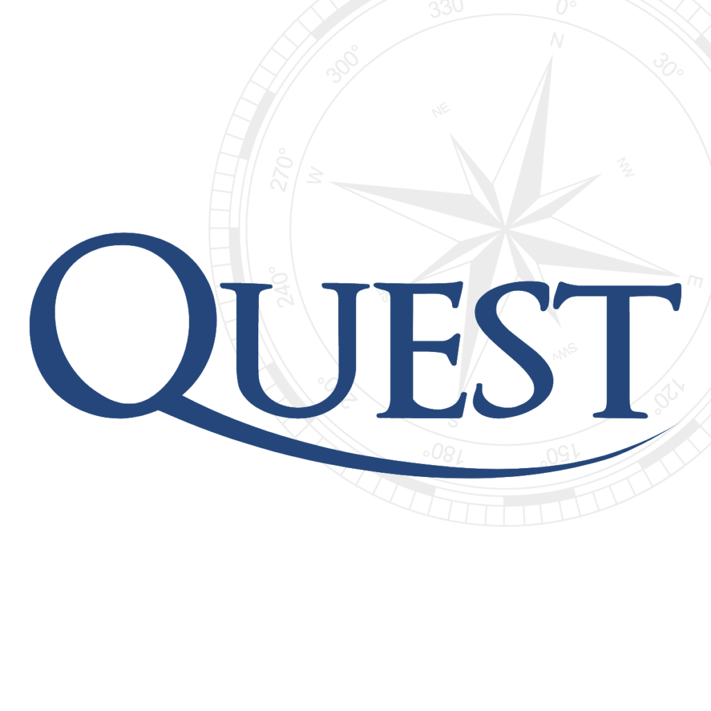 The logo of Quest Medical website designed by Flowmedia.